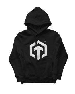Sudadera Sweatshirt technomática Basic Black